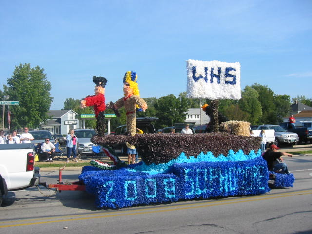 The Sophomore float