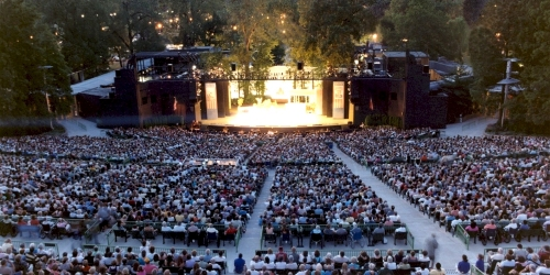 No, I didn't take this picture.  It's from The Muny website.