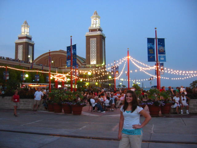 L.D. on the Navy Pier