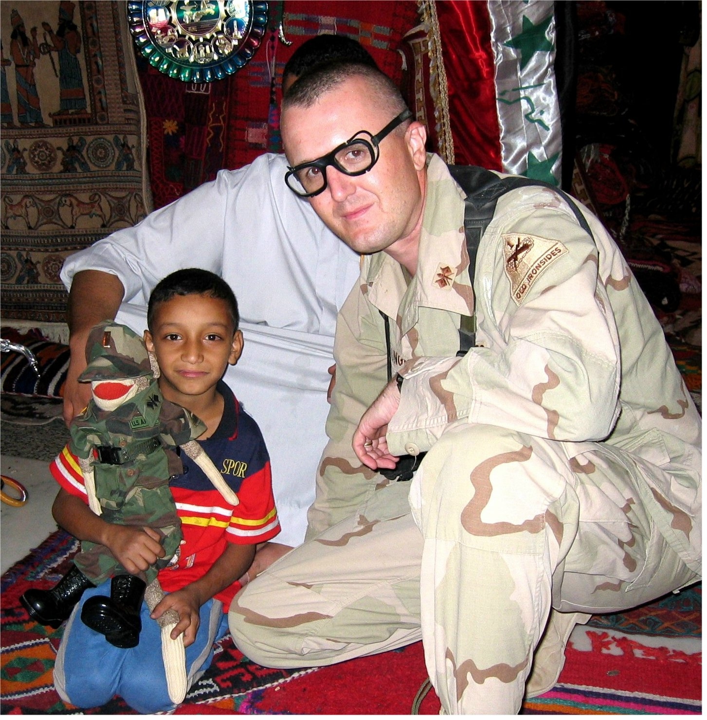 Brother-in-law Nathan serving valiantly in Iraq